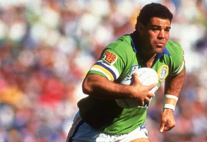 Canberra's greatest NRL team