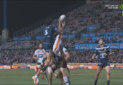 Questions raised over Tigers' second try after referee didn't refer it to the Bunker