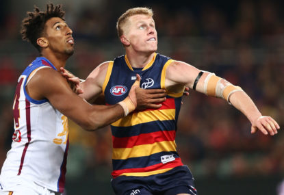Richard Goyder says Crows breach 'didn't help' AFL