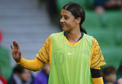 Sam Kerr can say whatever she damn well likes