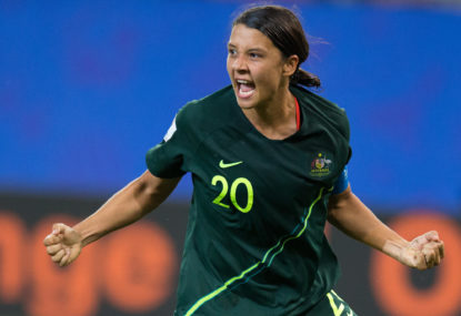 Chelsea move to take my game to the next level, says Sam Kerr