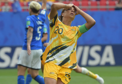 Sam Kerr's childish sledge lacked class