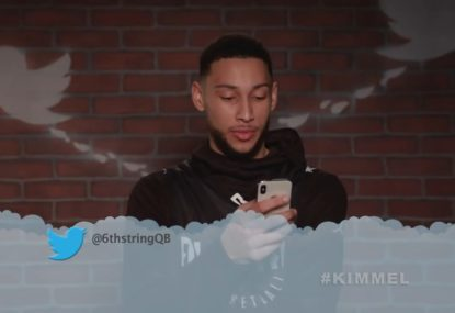WATCH: Ben Simmons and some of the NBA's finest get the 'Mean Tweets' treatment
