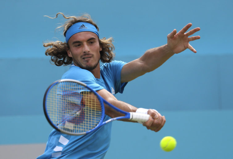 Stefanos Tsitsipas of Greece