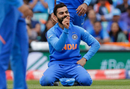 Kohli left to rues India's batting slump as Kiwis secure place in World Cup final