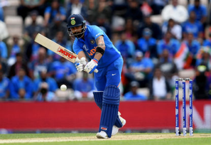 India vs Pakistan: Cricket World Cup live scores, blog