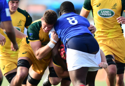 Junior Wallabies lose Championship final by a single point