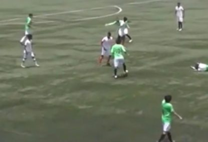 Titanic levels of failing produce the WORST (and funniest) goal ever scored