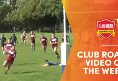 CLUB ROAR VIDEO OF THE WEEK: Zigzagging fullback goes on an ankle-breaking rampage in classic try