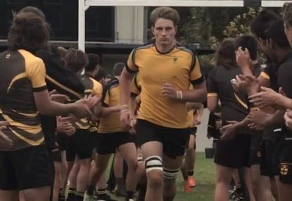 Sydney Grammar's spine-tingling montage will get any rugby fan PUMPED!