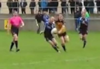 The Houdini of Rugby escapes tackles galore in magical 50m try
