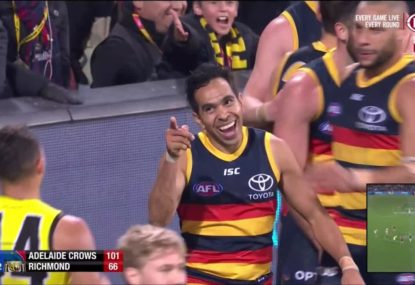 The touching moment between Eddie Betts and Sydney Stack... that Garry Lyon hated
