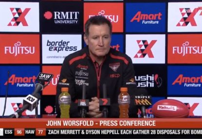 John Worsfold and Alastair Clarkson both claim ignorance of pinching
