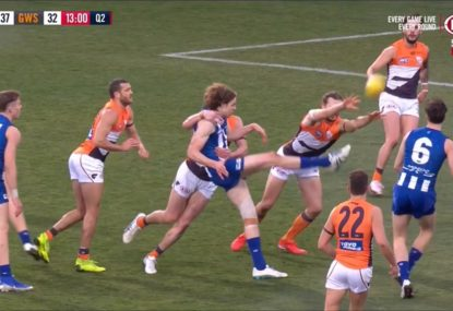 Did another dodgy score review moment rob the Roos of a goal?