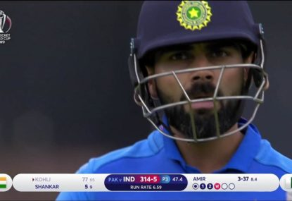 Virat Kohli bizarrely walks - when he shouldn't have!