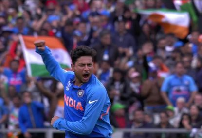 Kuldeep Yadav's absolute ripper to dismiss Pakistan star