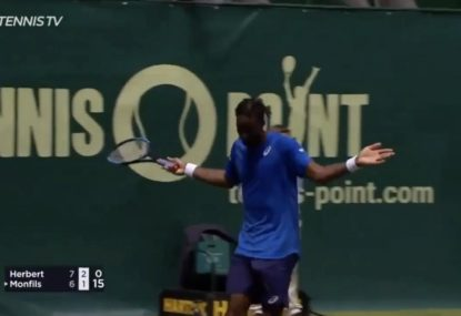 More Monfils magic in Germany