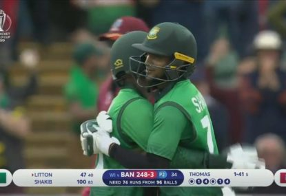 Bangladesh cruise to big win over the West Indies