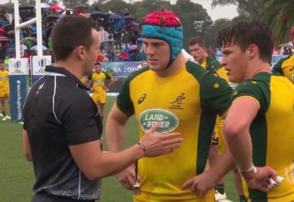 Junior Wallabies overcome red card to reach  U20 Championship final