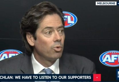 AFL CEO admits Behavioural Awareness Officers are a bad look
