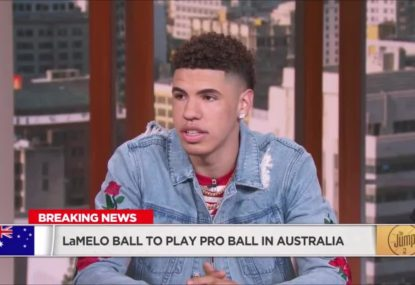 LaMelo Ball reveals why he's ditching college basketball for the NBL