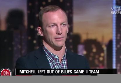 Darren Lockyer on how NSW should have handled the Latrell Mitchell situation