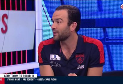 Jordan Lewis suggests Ben Stratton's pinching wasn't a one-off