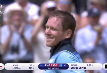 Eoin Morgan blasts ODI record 17 sixes in 71 balls of pure mayhem