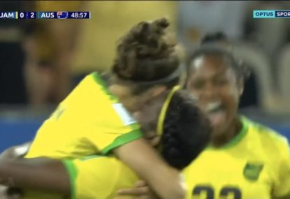 Jamaica score first ever World Cup goal