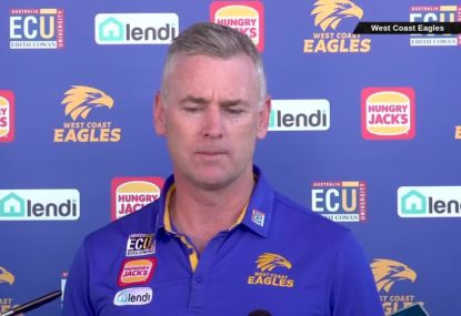 Eagles coach apologises for Instagram story gaffe