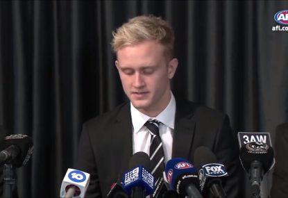 AFL great says Jaidyn Stephenson's suspension was 'overs'