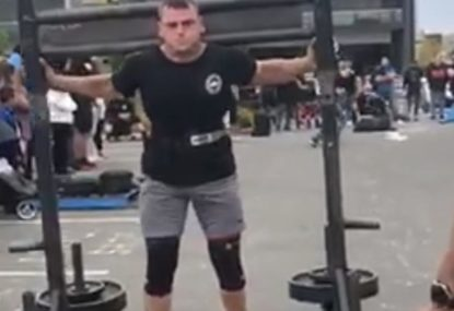 One of NSW's strongest men carries OVER 300KG like its nothing