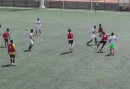 Midfielder nails a monster goal from outside the solar system