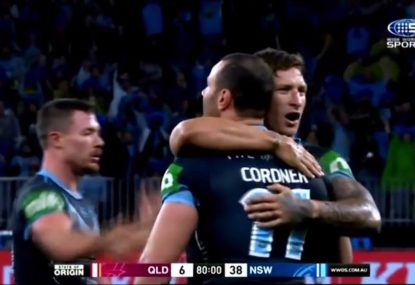 HIGHLIGHTS: Rampaging NSW blast QLD away in Game 2 to level series