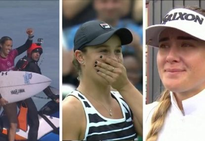 The remarkable 10 hours for Aussie women in world sport