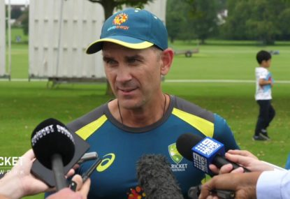 Justin Langer hits out at the critics ahead of clash with England