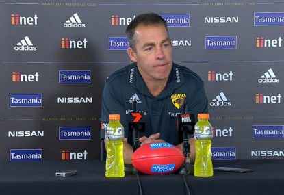 The rival club a former Hawk believes Clarko will leave for