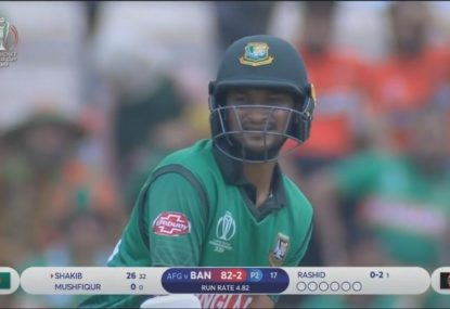 Bangladesh's star batsman saved by DRS