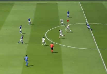 FIFA player mesmerises defence with unbelievable volley goal