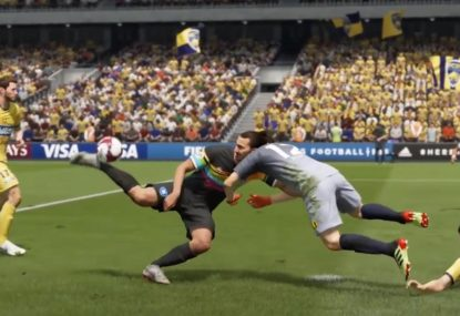Pro gamer hits a scorpion kick that's just unfair