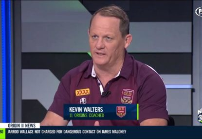 The 'unnacceptable' play that Kevin Walters says set the tone for QLD's Origin shocker