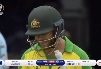 Savage England crowd show Warner no mercy despite 50