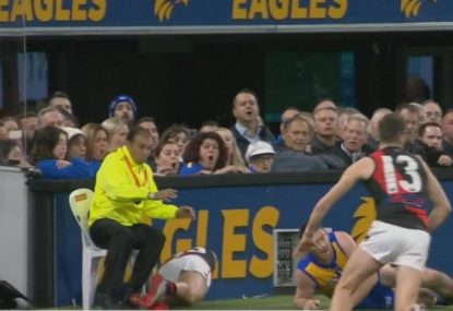 Jeremy McGovern's suspension stands despite security guard chair argument at tribunal