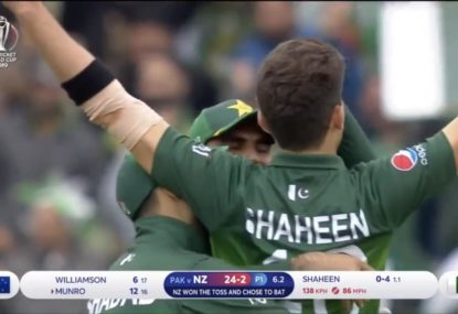 Shaheen Afridi rocks New Zealand