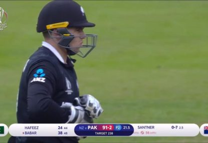 The NZ dropped catch that could knock England out of the World Cup