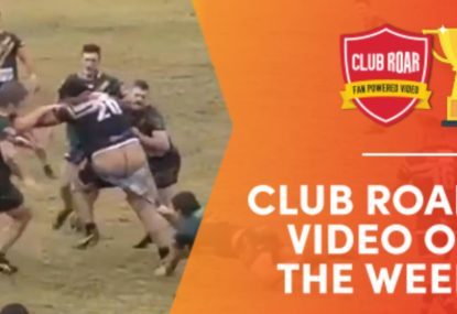 CLUB ROAR VIDEO OF THE WEEK: Cheeky Big Boppa bares all in powerful run