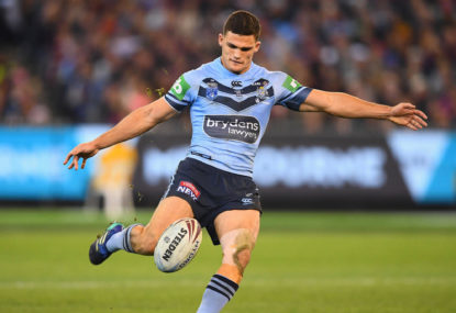 Nathan Cleary gives Pumas kicking tips