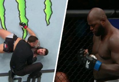 Fighter races to the second-fastest knockout in UFC heavyweight history