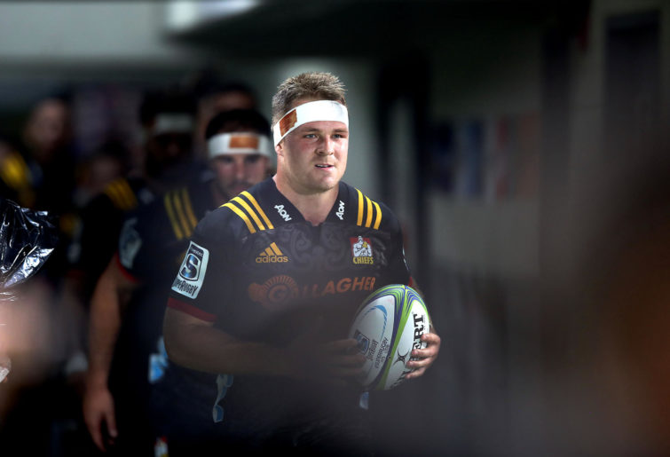 Sam Cane runs out for the Chiefs