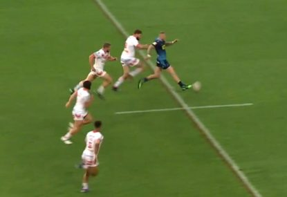 This is the most insane football-inspired rugby league try you'll see